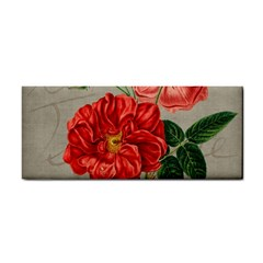 Flower Floral Background Red Rose Cosmetic Storage Cases