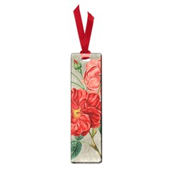 Flower Floral Background Red Rose Small Book Marks