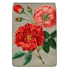 Flower Floral Background Red Rose Flap Covers (l)