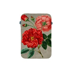 Flower Floral Background Red Rose Apple Ipad Mini Protective Soft Cases
