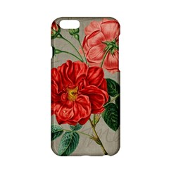 Flower Floral Background Red Rose Apple Iphone 6/6s Hardshell Case