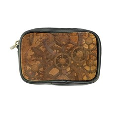Background Steampunk Gears Grunge Coin Purse