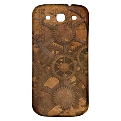 Background Steampunk Gears Grunge Samsung Galaxy S3 S Iii Classic Hardshell Back Case