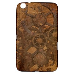 Background Steampunk Gears Grunge Samsung Galaxy Tab 3 (8 ) T3100 Hardshell Case