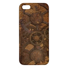 Background Steampunk Gears Grunge Iphone 5s/ Se Premium Hardshell Case