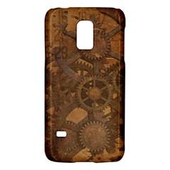 Background Steampunk Gears Grunge Galaxy S5 Mini