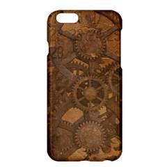 Background Steampunk Gears Grunge Apple Iphone 6 Plus/6s Plus Hardshell Case