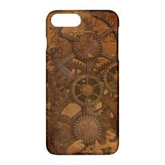 Background Steampunk Gears Grunge Apple Iphone 7 Plus Hardshell Case by Nexatart