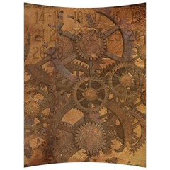 Background Steampunk Gears Grunge Back Support Cushion