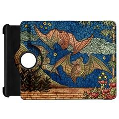 Bats Cubism Mosaic Vintage Kindle Fire Hd 7