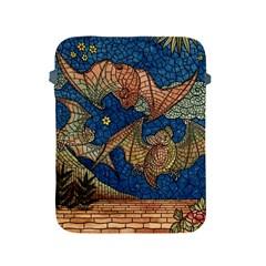 Bats Cubism Mosaic Vintage Apple Ipad 2/3/4 Protective Soft Cases