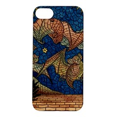 Bats Cubism Mosaic Vintage Apple Iphone 5s/ Se Hardshell Case