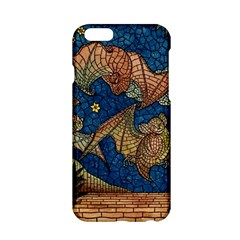 Bats Cubism Mosaic Vintage Apple Iphone 6/6s Hardshell Case