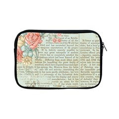 Vintage Floral Background Paper Apple Ipad Mini Zipper Cases