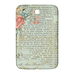 Vintage Floral Background Paper Samsung Galaxy Note 8 0 N5100 Hardshell Case