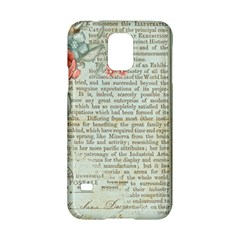 Vintage Floral Background Paper Samsung Galaxy S5 Hardshell Case