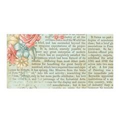 Vintage Floral Background Paper Satin Wrap