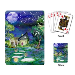 Background Fairy Tale Watercolor Playing Card