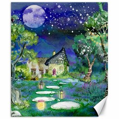 Background Fairy Tale Watercolor Canvas 20  X 24