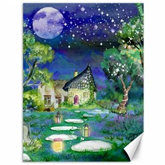 Background Fairy Tale Watercolor Canvas 36  X 48