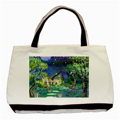Background Fairy Tale Watercolor Basic Tote Bag (two Sides)