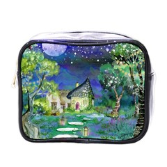 Background Fairy Tale Watercolor Mini Toiletries Bags