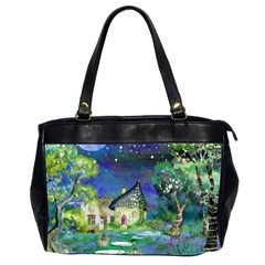 Background Fairy Tale Watercolor Office Handbags (2 Sides)