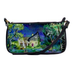 Background Fairy Tale Watercolor Shoulder Clutch Bags