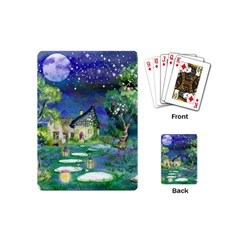 Background Fairy Tale Watercolor Playing Cards (mini)