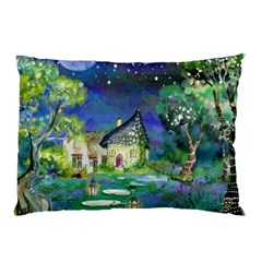 Background Fairy Tale Watercolor Pillow Case (two Sides)