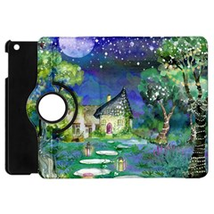 Background Fairy Tale Watercolor Apple Ipad Mini Flip 360 Case