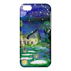 Background Fairy Tale Watercolor Apple Iphone 5c Hardshell Case