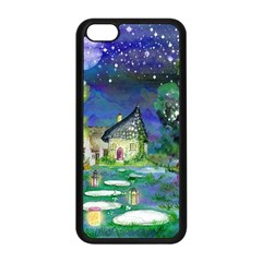 Background Fairy Tale Watercolor Apple Iphone 5c Seamless Case (black)