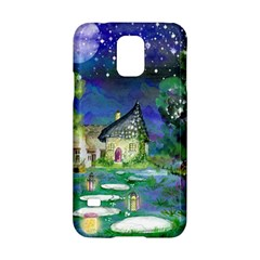 Background Fairy Tale Watercolor Samsung Galaxy S5 Hardshell Case