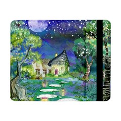 Background Fairy Tale Watercolor Samsung Galaxy Tab Pro 8 4  Flip Case