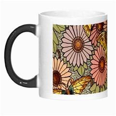 Flower Butterfly Cubism Mosaic Morph Mugs