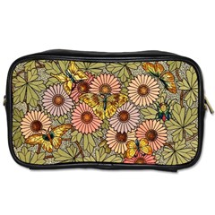 Flower Butterfly Cubism Mosaic Toiletries Bags
