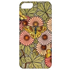 Flower Butterfly Cubism Mosaic Apple Iphone 5 Classic Hardshell Case