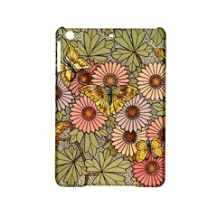 Flower Butterfly Cubism Mosaic Ipad Mini 2 Hardshell Cases