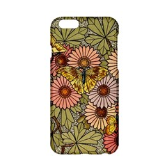 Flower Butterfly Cubism Mosaic Apple Iphone 6/6s Hardshell Case