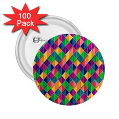 Background Geometric Triangle 2 25  Buttons (100 Pack)