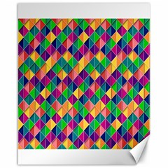 Background Geometric Triangle Canvas 16  X 20