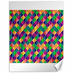 Background Geometric Triangle Canvas 18  X 24