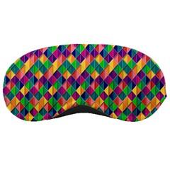 Background Geometric Triangle Sleeping Masks
