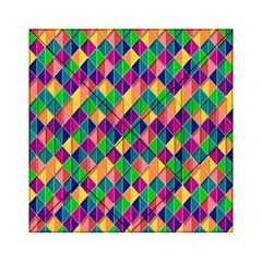 Background Geometric Triangle Acrylic Tangram Puzzle (6  X 6 )