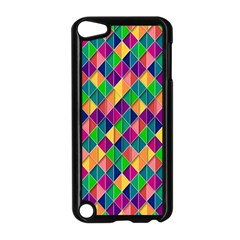 Background Geometric Triangle Apple Ipod Touch 5 Case (black)