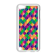 Background Geometric Triangle Apple Ipod Touch 5 Case (white)