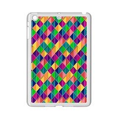 Background Geometric Triangle Ipad Mini 2 Enamel Coated Cases