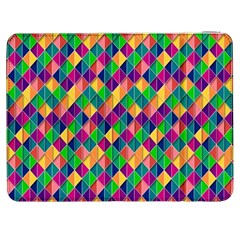 Background Geometric Triangle Samsung Galaxy Tab 7  P1000 Flip Case
