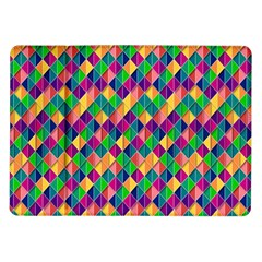 Background Geometric Triangle Samsung Galaxy Tab 10 1  P7500 Flip Case